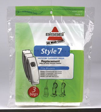 Bissell Lift-Off Vacuum Bag Style 7 Fits : Bissell Bagged 3 / Pack (Bagged Vacuum Bissell compare prices)