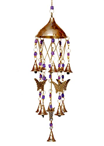 Si diesel Brass Butterfly Bells Wind Chimes