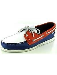 Sebago Spinnaker Tan/sand/gray Mens Casual Boat Shoes
