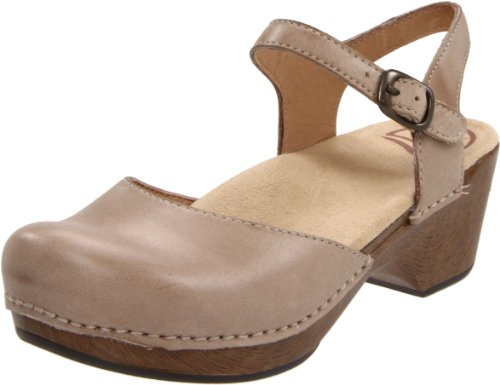Dansko Women'S Sam Ankle-Strap Clog,Sand Dollar,37 Eu/6.5-7 M Us back-269844