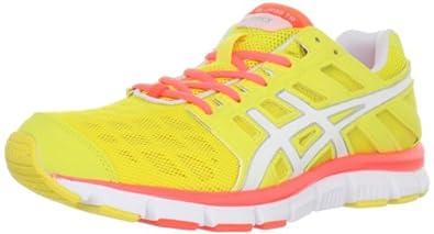 ASICS Women's GEL-Blur33 TR Cross-Training Shoe,Electric Yellow/White/Electric Melon,11.5 M US