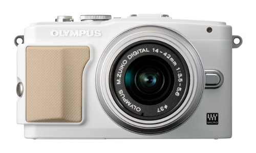 OLYMPUS マイクロ一眼 PEN Lite E-PL5 レンズキット ホワイト E-PL5 LKIT WHT