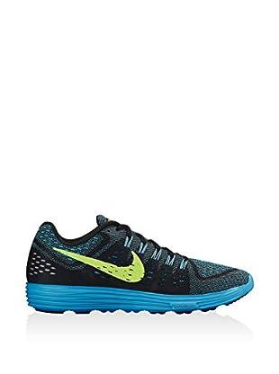 Nike Zapatillas Lunartempo (Negro / Azul Royal / Amarillo)