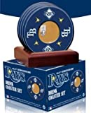 Tampa Bay Rays unsigned Coasters With Game Used Dirt (Set of 4)- MLB Hologram at Amazon.com
