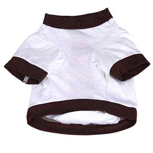 Camicia Piccolo Cane, Dog Shirt, Ouneed® Estate del Cucciolo dell'animale Domestico il Piccolo Cane Domestico del Gatto dei Vestiti della Maglia Maglietta Abbigliamento (XS)