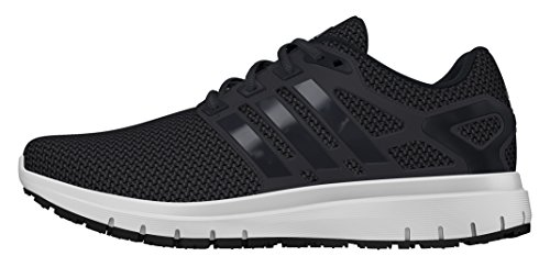 adidas Energy Cloud, Scarpe Sportive Indoor Uomo, Nero (Core Black/Utility Black/Ftwr White), 44 2/3 EU