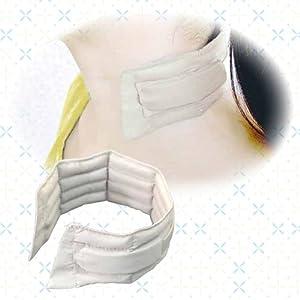 濡れない、巻かない、装着タイプの冷却スカーフ【ビズクールS】ライトグレー