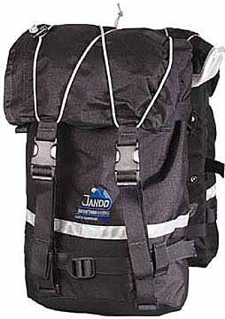 Jandd Mountain Panniers Black