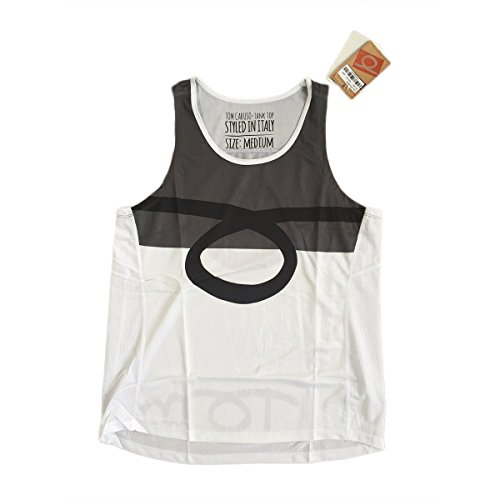 TOM CARUSO vest tank top Atlanta Beach Tennis Canotta Uomo Grey L
