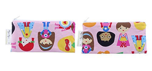 itzy-ritzy-merienda-sucede-girl-power-mini-snack-reutilizable-y-todo-bolsa-pack-de-2