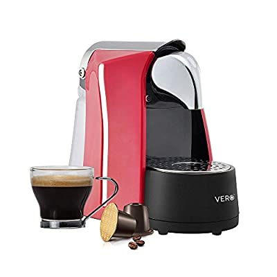 Vero Infuso Single Serve Espresso Machine (Red)