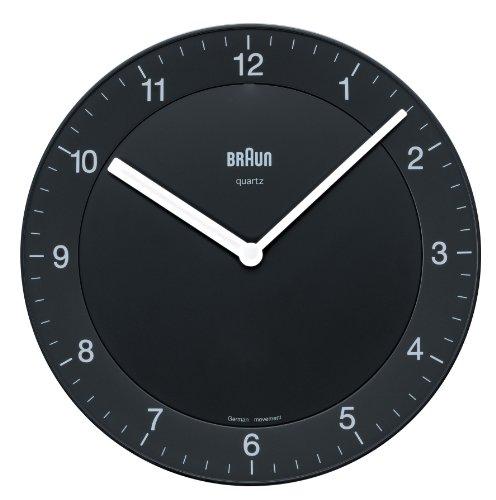 【正規輸入品】 BRAUN 壁掛け時計 BNC006BKBK