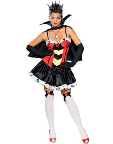 Secret Wishes Women's Queen Of Broken Hearts Sassy Adult Costume