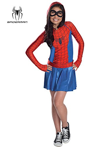 Rubies Marvel Classic Child's Spider-Girl Hoodie Costume Dress