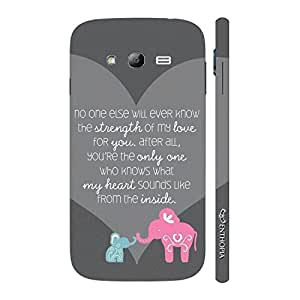 Enthopia Designer Hardshell Case Mom,you know me best Back Cover for Samsung Galaxy Grand 2