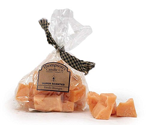 Thompson's Candle Co. 3 Ounce Bag of Scented Candle Crumbles - Fresh Oranges (Chef Tart Warmer compare prices)