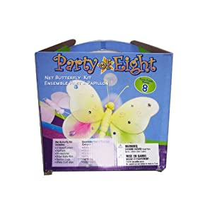 Click to buy WeGlow International Make Your Own Butterfly Kit 8 pack (each)from Amazon!