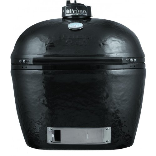 Primo 778 Extra-Large Oval Ceramic Charcoal Smoker Grill front-166314