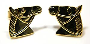 Arranview Jewellery Child's Horse Head Stud Earring - 9ct Gold