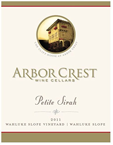 2011 Arbor Crest Wahluke Slope Vineyard Petite Sirah 750 Ml