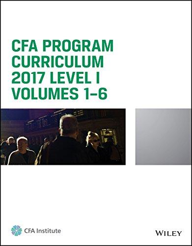cfa level 2 2017 curriculum pdf
