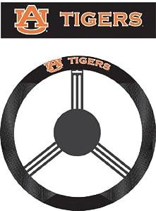 Buy NCAA Auburn Tigers Poly-Suede Steering Wheel Cover by BSI