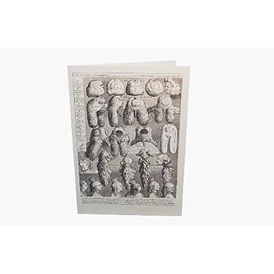 Greetings Card: 'Perriwigs' by William Hogarth
