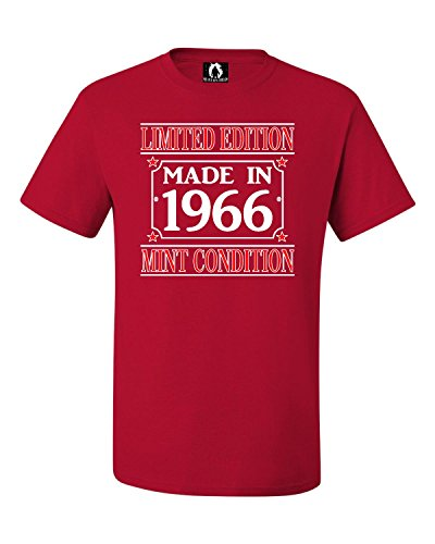 YL 14-16 Red Youth Made In 1966 Limited Edition Mint Condition T-Shirt