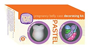 ProudBody 3070 PASTEL grossesse Belly Casting Kit D-coration