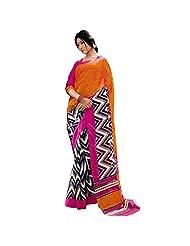 Bhagalpuri Beautiful Silk Indian Veda Saree - B00LVTMD0E