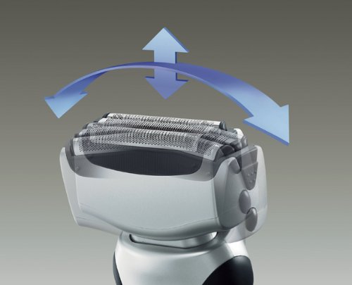 Panasonic松下 ES-RT51-S 三刀头干湿两用剃须刀图片