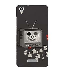 EPICCASE Mick Mouse(s) Mobile Back Case Cover For Lava Pixel V1 (Designer Case)