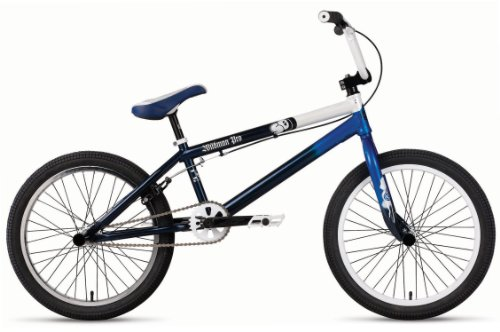 SE Wildman Pro Street BMX Bike Blue Fade Out 20