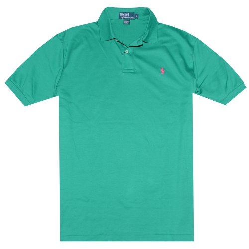 Polo Ralph Lauren Classic-Fit Interlock Polo, True Green, L