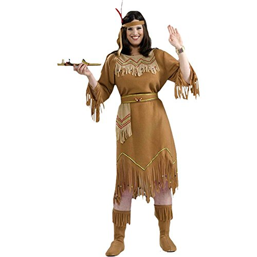 Native American Indian Maid Plus Size Costume - Plus