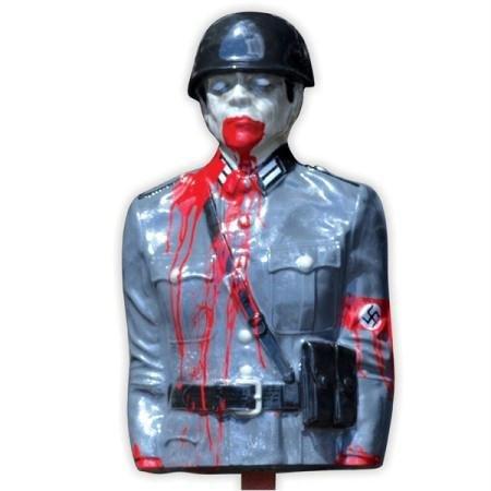 Bleeding Zombie Nazi Target (Bleeding Targets compare prices)