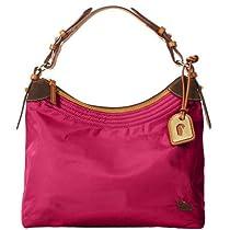 Dooney & Bourke Nylon Large Erica Bag, Hot Pink