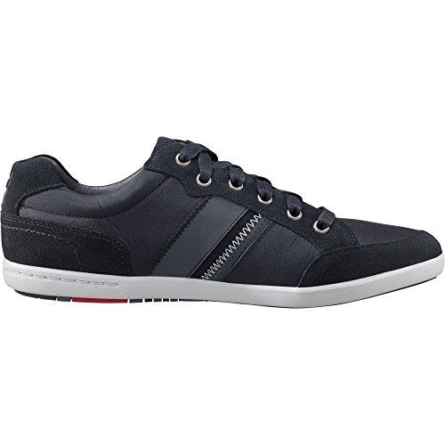 Helly Hansen Kordel Leather, Sneaker a Collo Alto Uomo, Nero (Black/Ebony/Red/Ash), 46 EU