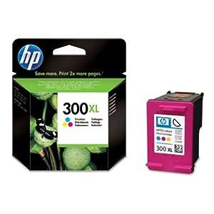 HP 300XL Tri-colour Ink Cartridge: CC644EE