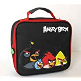Angry Birds Black Rectangle Lunch Bag