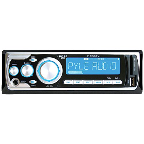 Pyle Plr24Mpm Am/Fm Receiver Mp3 Playback With Usb/Sd/Aux-In