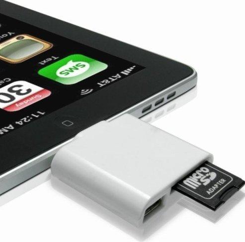iPad Camera kit de connexion / lecteur de carte SDHC ET USB