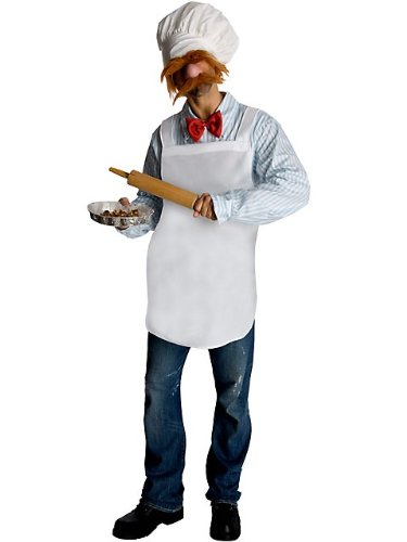 Muppets Swedish Chef Costume for Adults