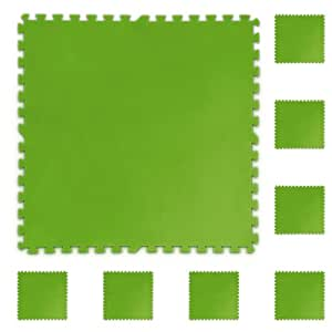pool bodenschutz fliesen set 8 st ck 81x81cm gr n garten. Black Bedroom Furniture Sets. Home Design Ideas