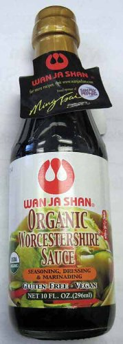 Organic Worcestershire Sauce - 10fl oz by Wan Ja Shan.