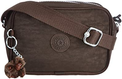 Kipling Women's DEE Shoulder Bag  Brown Braun (Expresso Brown) Size: 21x14x8 cm (B x H x T)
