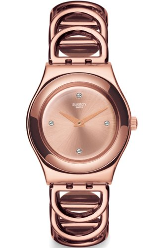 Swatch Irony Women's Watch - Rose Gold (Swatch Watch Digital compare prices)