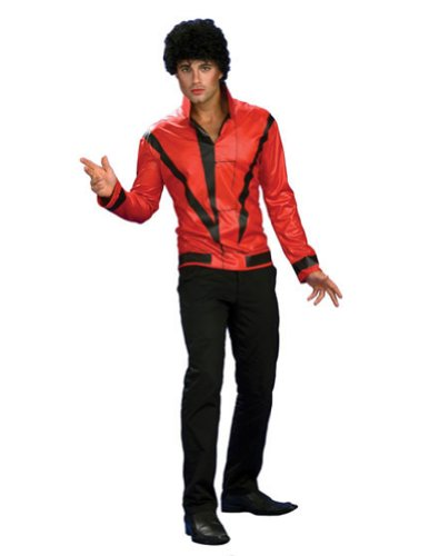 Michael Jackson Rd Thriller Jacket Deluxe Adult Xl Adult Mens Costume