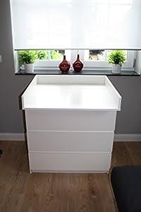 Cambiador para bebé superior Mesa cambiadora superior para cómoda MALM de IKEA en BebeHogar.com
