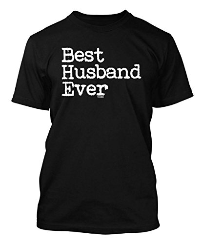 Best Husband Ever - Father's Day Men's T-shirt (XL, BLACK)
